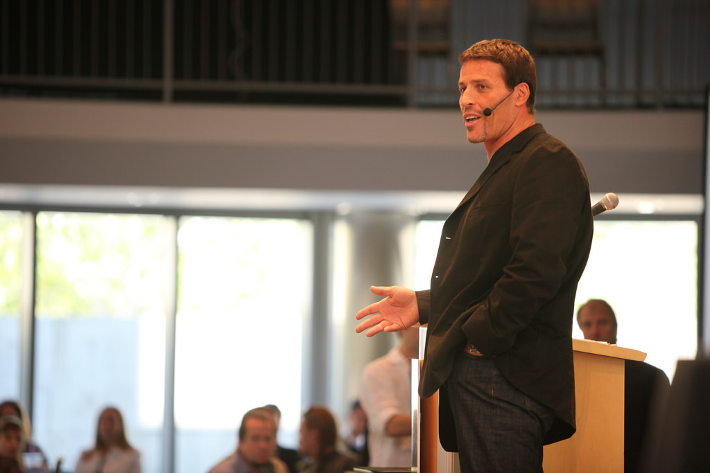 How Tony Robbins Generates 1,000,000 Website Visitors Per Month